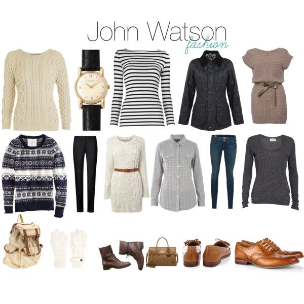 """John Watson Fashion"" by melovesharrypotter on Polyvore // @Sarah Camino: I am preparing for when we dress like this at the Hobbit."
