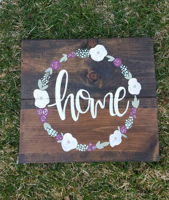 Wooden signs wood signs handmade signs by HuckleberryHomeDecor