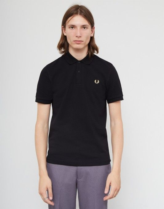 Fred Perry Made In England The Original Polo Shirt Black #StyleMadeEasy