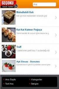 Android için Yemek Tarifleri Uygulaması