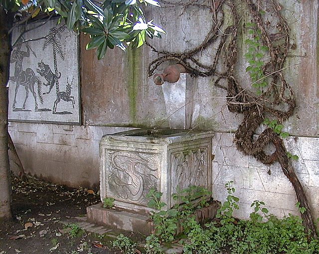 Fontana del Cortile- Via Margutta 53a