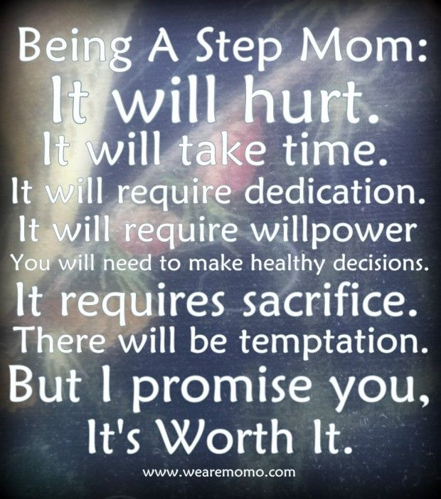 Being A Stepmother Quotes. QuotesGram