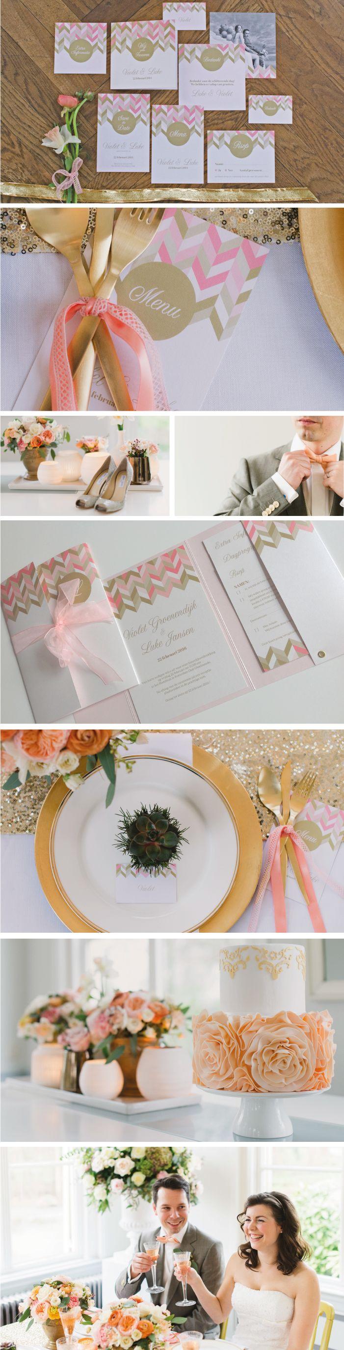 18 Best Trouwkaarten Images On Pinterest Menu Wedding Cards And