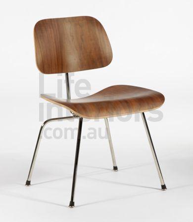 Replica DCM - Dining Chair Metal - Walnut