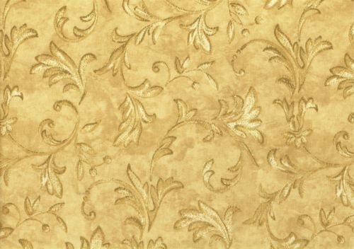Waverly-Fabric-Concello-Gold-Brown-Cotton-Drapery-Upholstery