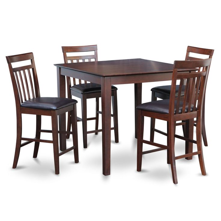 Set Of 4 Kitchen Counter Height Chairs With Microfiber: Best 25+ Counter Height Table Sets Ideas On Pinterest