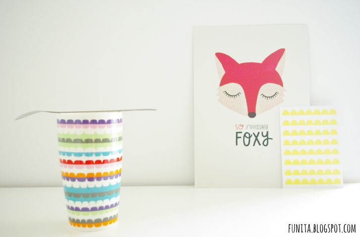 "michelle carlslund poster ""so fucking foxy"""