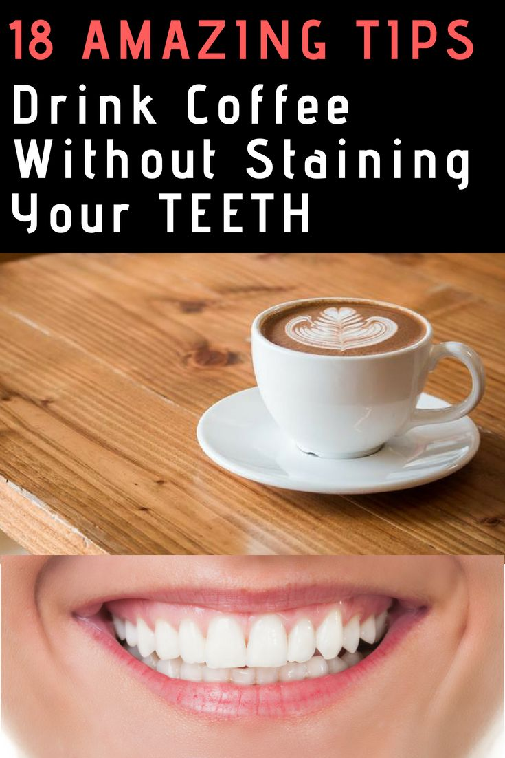 does coffee stain your teeth