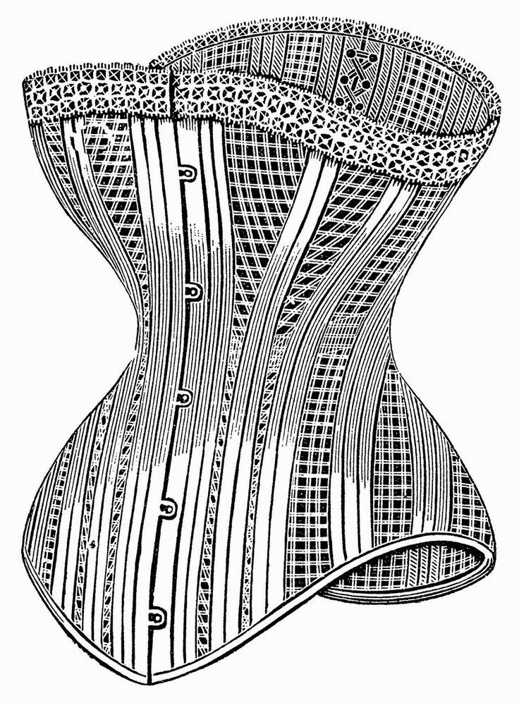 Illustrazioni Vintage in Bianco e Nero: Accessori di Moda - Vintage Illustrations in Black and White: Fashion Accessories