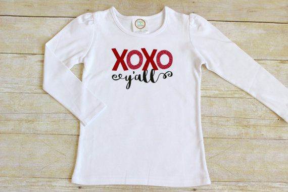 Toddler Valentine Shirt  Girl's Valentine by HeatherLCreations