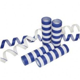 Serpentiini sini-valkoinen, palosuojattu 3 rll/pkt