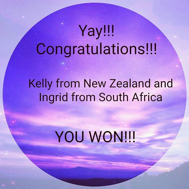 I'm so excited to announce the winners of the survey. I feel like I've won the prize!!! Arohanui (Great love) xo  #thepsychicpoet #survey