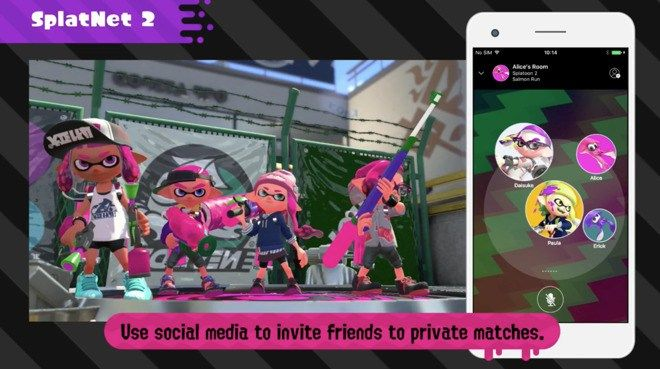 The Nintendo Switch Online phone app finally launches on July 21st alongside Splatoon 2 - http://www.sogotechnews.com/2017/07/06/the-nintendo-switch-online-phone-app-finally-launches-on-july-21st-alongside-splatoon-2/?utm_source=Pinterest&utm_medium=autoshare&utm_campaign=SOGO+Tech+News