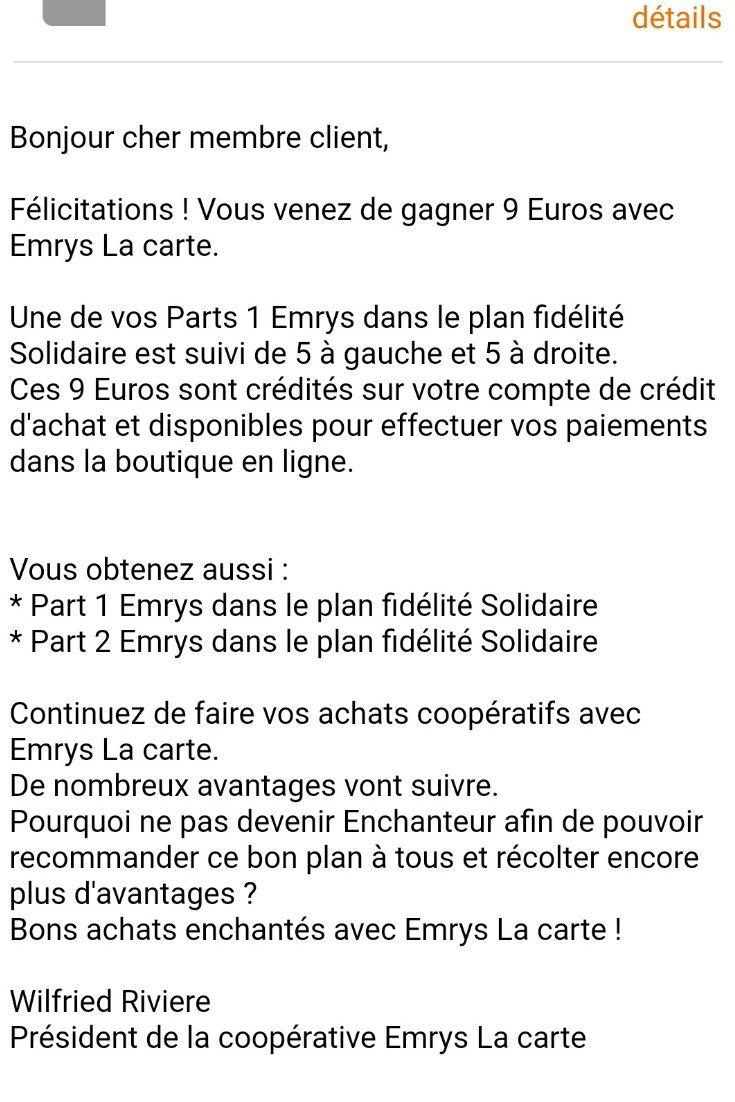 Emrys Entrepreneur Mlm Courses Bon Plan Opportunite Reseau