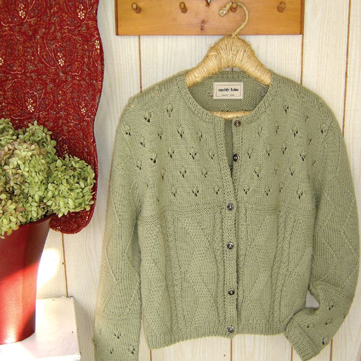 Wouldn't a classic wool cardigan be nice for Fall?