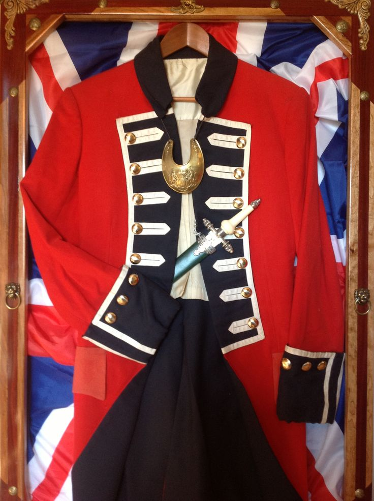 15 best Red Coats Revolutionary Uniform images on Pinterest ...