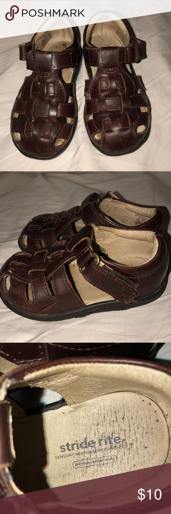 Stride Rite Toddler Sandals Like new! Toddler boys size 7, Velcro straps. Stride Rite Shoes Sandals & Flip Flops