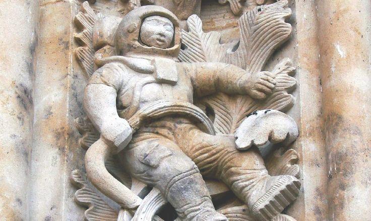 El misterioso astronauta de la catedral de Salamanca | Supercurioso