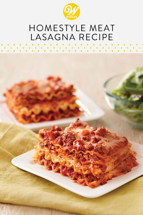 Home Style Meat Lasagna
