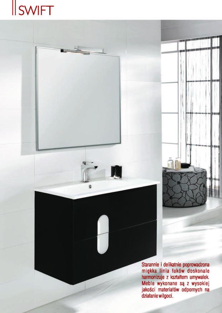 #swift #ulotka #elita #meble #elitameble #lazienka #furniture #bathroom
