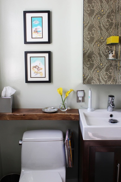 1000 ideas about shelves over toilet on pinterest bathroom shelves over toilet wood on walls - Small bathroom space pict ...