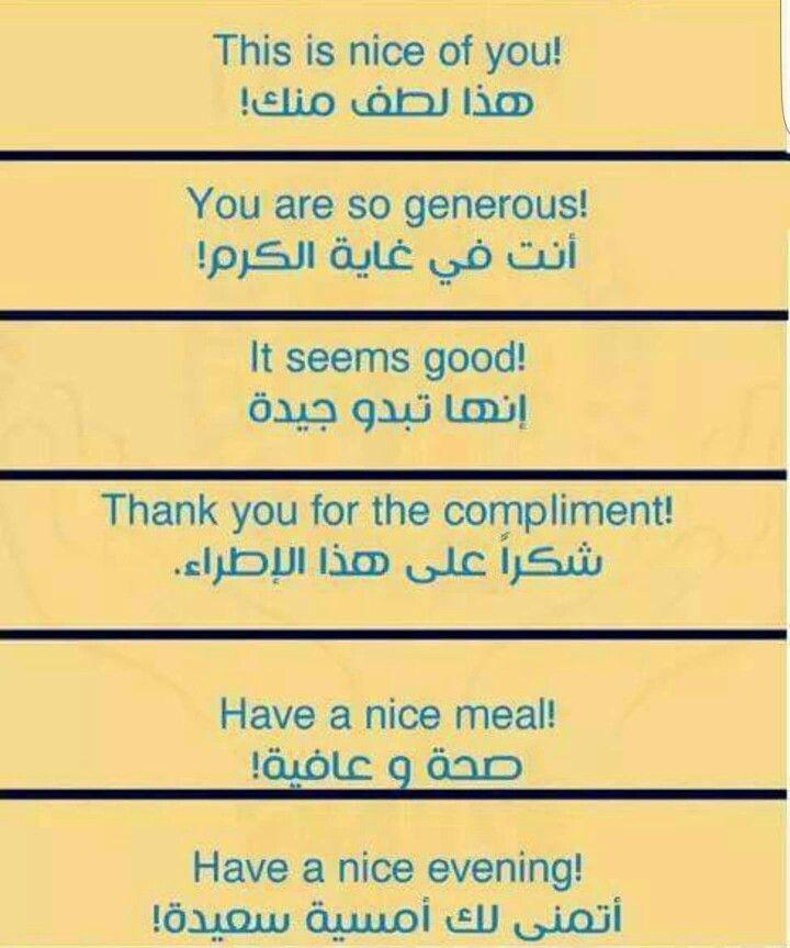 ترجمات Learn English Learning Arabic English Words
