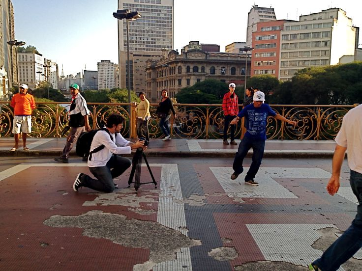 Making Of das gravações do teaser do programa Hip Hop é a Ponte!