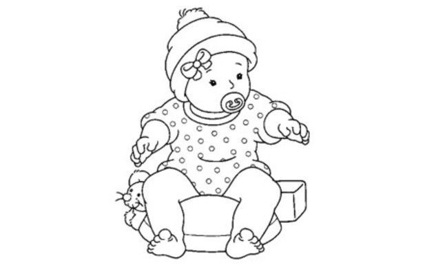 Dibujos De Bebes Recien Nacidos Para Colorear Coloring Books Coloring Book Pages Coloring Pages