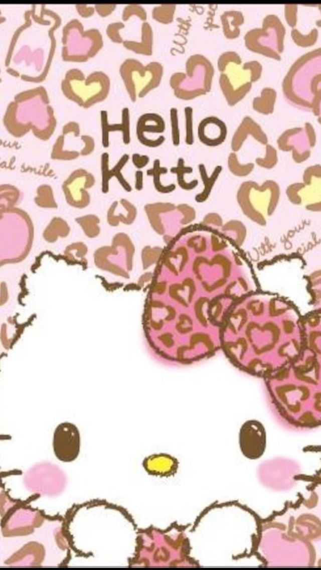 Hello Kitty Ribbons Hk Lockscreen Pinterest Hello Kitty