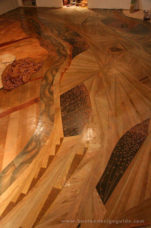 Design Wood Floors | Beautiful Unique Hardwood Floor In Blackstone, MA |  Boston Design Guide