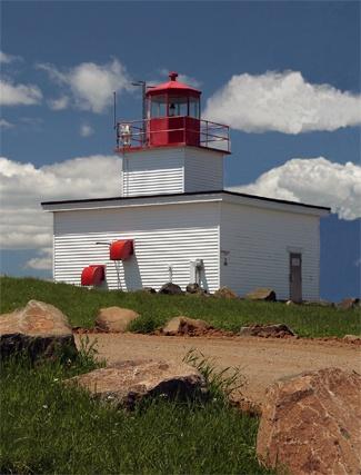 Southwest Head Light, Grand Manan, New Brunswick, Canada