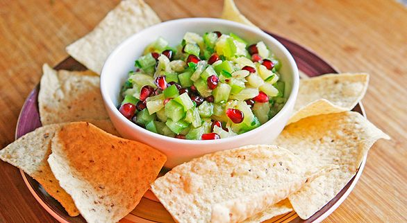 Pina-Poma-Fo-Fum!: Pineapple Pomegranates, Appetizers Recipes, Cups Pineapple, Easy Salsa, Pomegranates Salsa, Festivals Salsa, Cups Pomegranates, Favorite Recipes, Salsa Recipes