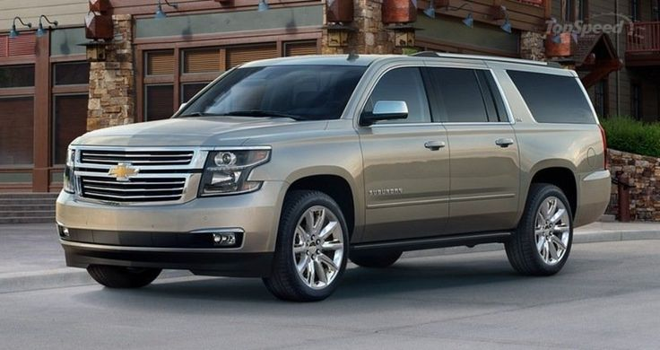 Going to have a personal driver getting us to all the places we need to go, safely. (Chevrolet Suburban 2013)