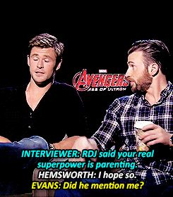 Chris Hemsworth's superpower is parenting! Avengers Age of Ultron interview