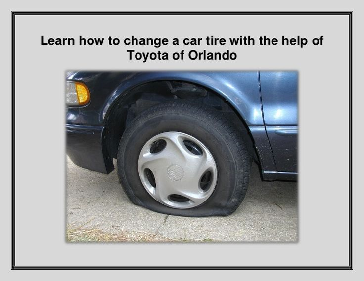 Want to learn how to change a flat tire? Our Toyota Service Center in Orlando is sharing easy instructions! You'll be glad you read this!