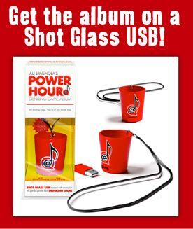 Ali Spagnola's Power Hour Drinking Game