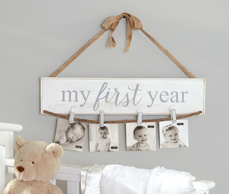 Features:  -Arrives with jute ribbon and bow to hang on wall.  Distressed: -Yes.  Style: -Country/Cottage.  Color: -White.  Material: -Wood.  Theme: -Family.  Text: -Yes. Dimensions:  Overall Height -