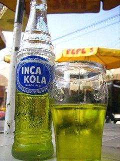 Inca Kola Peruvian Drink