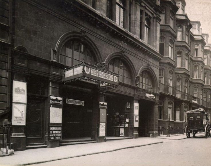 Down Street station, one of London's historic disused Tube stations
