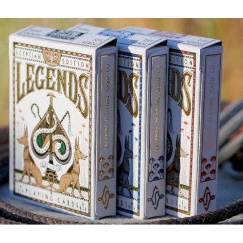 Egyptian Legends Playing Cards - SPECIAL EARLY PRICE  Available at: http://www.playingcards4magic.com/