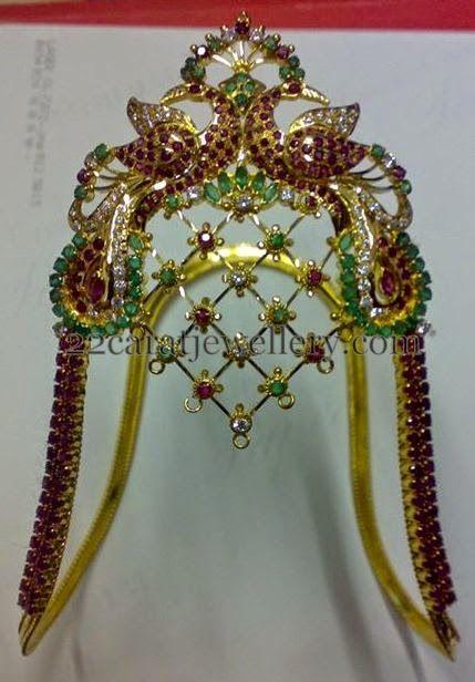 Jewellery Designs: Rubies Ara Vanki