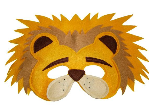This LION mask is designed for everyday fun, great for dress up and pretend play, ideal gift, perfect for themed birthday parties, party favor and
