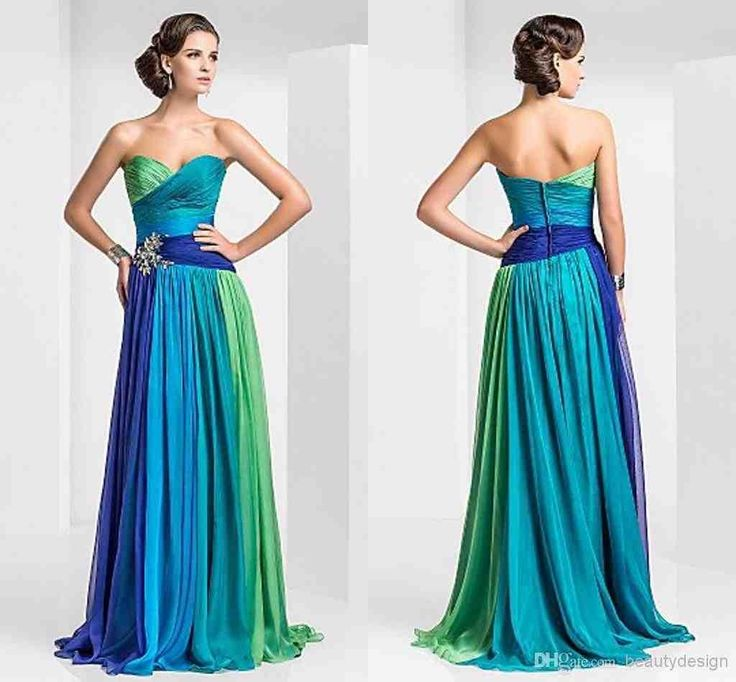 Green Wedding Dress for Formal
