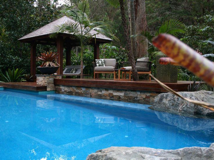 Eco Outdoor Pool Design Ideas on Eckersley Garden Architecture Pool