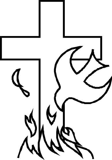 Holy Spirit Dove Drawing Simple Dopepicz Church