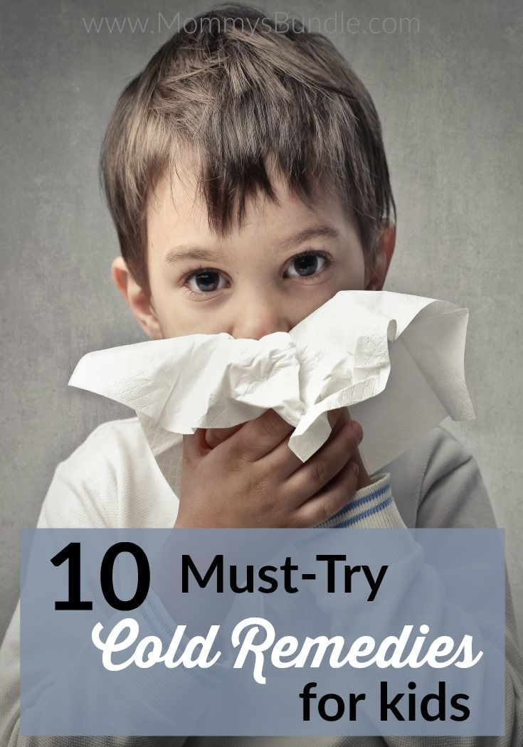 Natural Cold Remedies for Kids: Have a sick kid? Treat your toddler's cough or cold symptoms at home with these 10 ideas moms have tried!