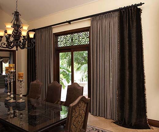 25 best images about curtains for big windows on Pinterest ...