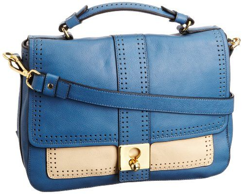Orla Kiely Punched Dot Detail Leather Rosemary 13SBPDD022-4301-00 Cross Body,Riviera,One Size