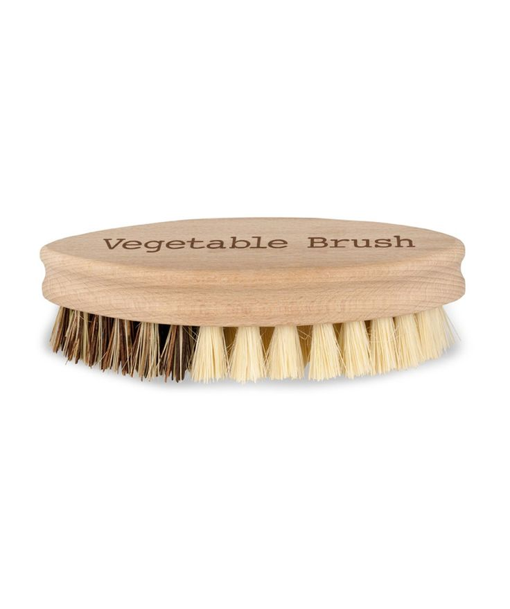 Scrub the dirt away from your root vegetables with ease. This handy little vege brush will be a welcome addition to your kitchen. | huntingforgeorge.com