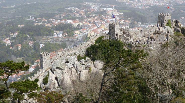 Замок мавров (Синтра),Португалия. - Блажен, кто посетил сей мир в его минуты роковые!